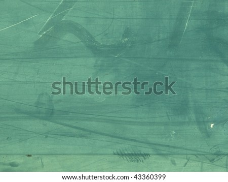 Green grungy metal surface