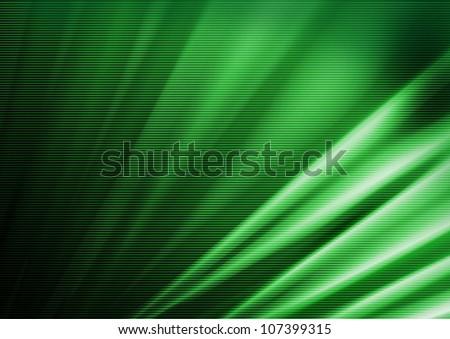 Green halftone background - stock photo