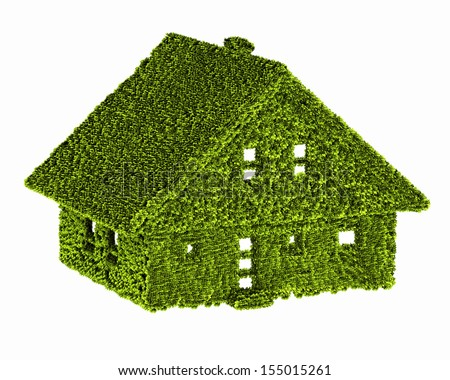 green house nature ecology - stock photo