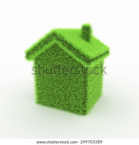 Green Icon - home, green house