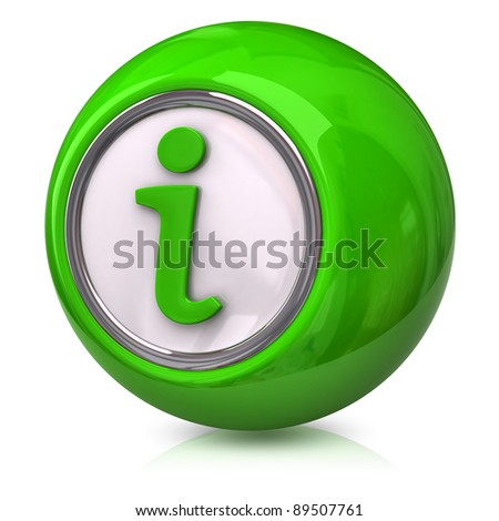 Green information icon