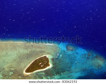 Green Island, near Cairns, North Queensland, Australia