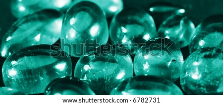 Green jewel - stock photo