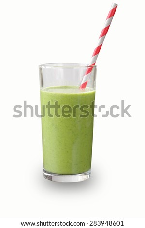 Green juice - stock photo