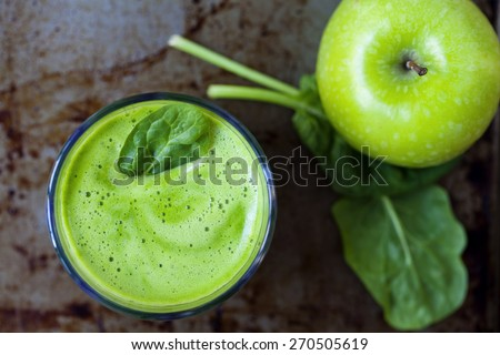 Green juice from above