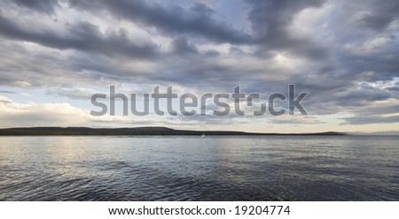 Green Lake, British Columbia, Canada - stock photo