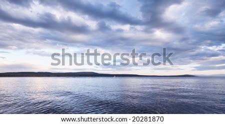 Green Lake, Canada - stock photo