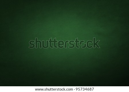 green leather - stock photo