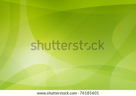Green light abstract background - stock photo