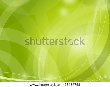 Green light abstract fresh background - stock photo
