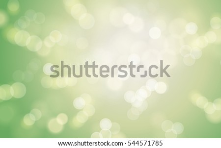 green light element, can be used as natural background