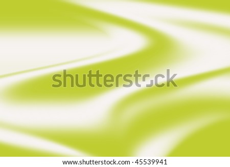 green liquid cotton pattern background