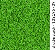 Green Meadow Grass. Seamless Tileable Texture. - stock photo