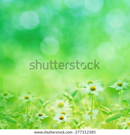 Green natural background. - stock photo
