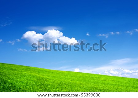 Green nature - stock photo