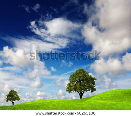 Green nature - stock photo