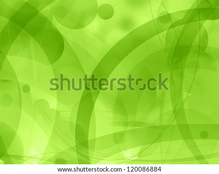 green nature abstract background illustration