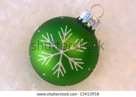 Green Ornament - stock photo