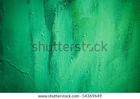 green painted background 17. - stock photo