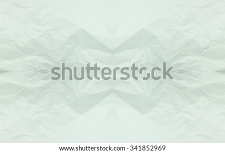 Green paper texture background. Abstract green crumpled paper for backgrounds : crease of green paper textures backgrounds for design,decorative. paper textures concept. - stock photo