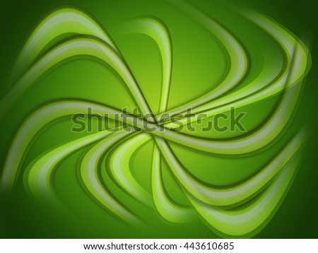 Green patterned abstract background for using as digital graphic resource