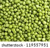 Green Peas Background - stock photo