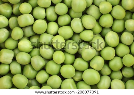 Green Peas background. Vegetables.