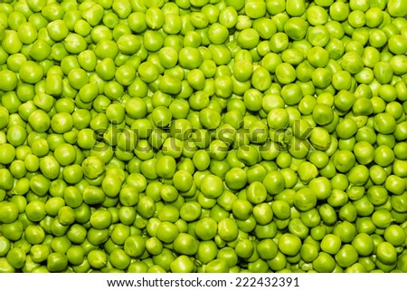 green peas, texture - stock photo