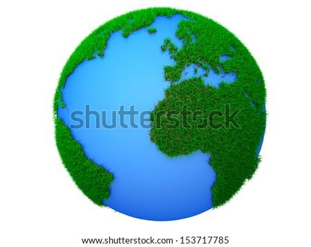 green planet dream - stock photo
