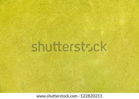 Green plastered wall background - stock photo
