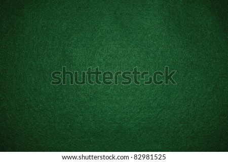 Green poker background - stock photo