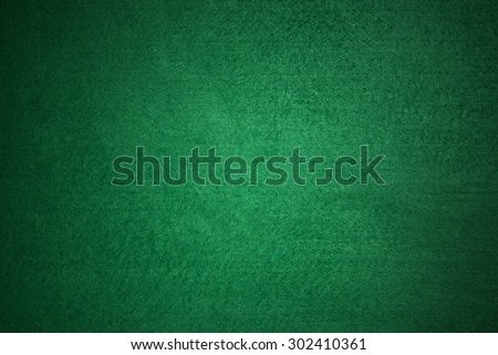 Green Poker table background - stock photo