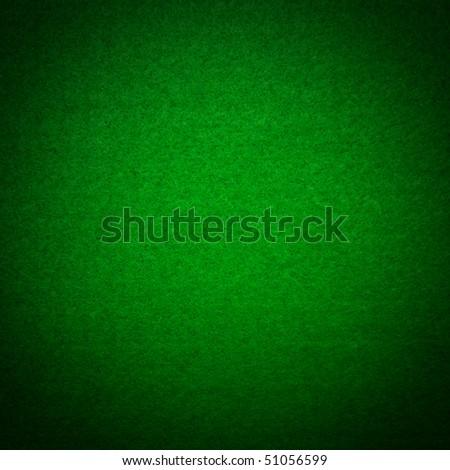 Green poker table felt background - stock photo
