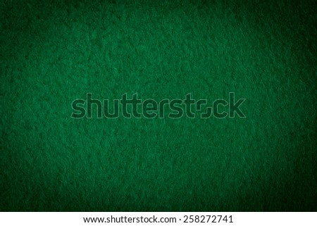 green poker table textured soft material background - stock photo