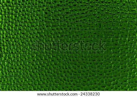 Green reinforced glass texture - stock photo
