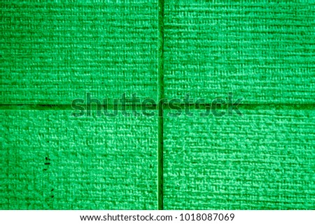 Green Roof shingles background and texture, surface level for web site or mobile devices.