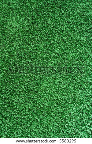 Green rug - stock photo