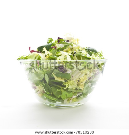 green salad. healthy vegetarian food