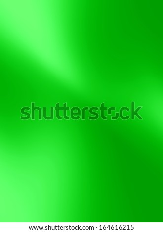 green satin or silk texture with some smooth folds in it - stock photo