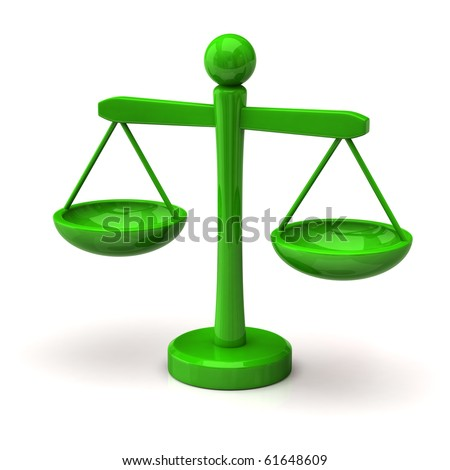 Green scales - stock photo