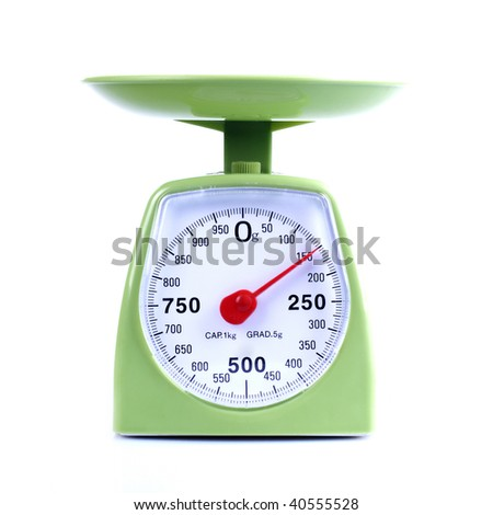 Green Scales -  High Quality Studio Shot Isolated On White - stock photo