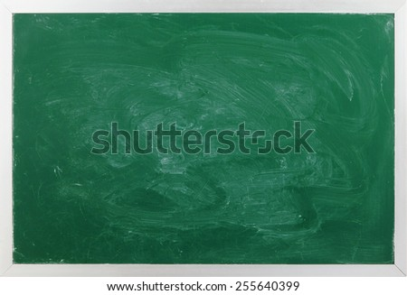 Green school board as background - stock photo