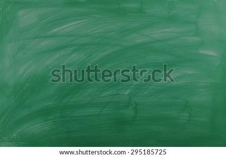 Green school board as background - stock photo