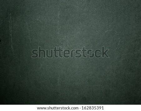Green school chalk board texture - stock photo