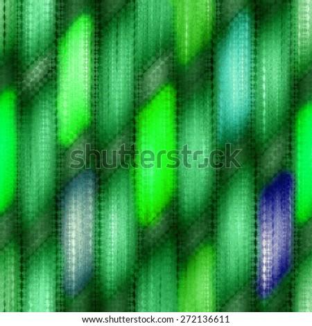 green seamless weaving wood  texture  pattern under glass - stock photo