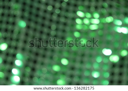 Green Sequin Blur