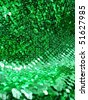Green sequins. More of this motif & more sequins in my port - stock photo