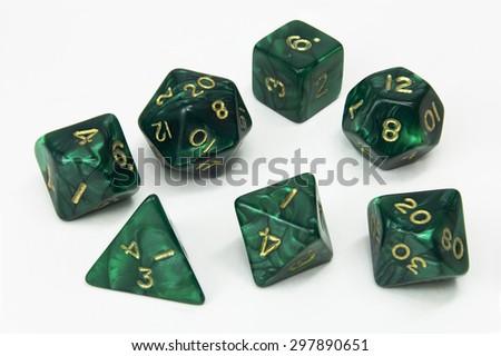 green set1 - stock photo