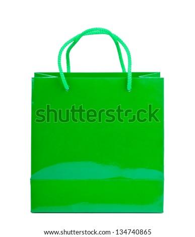 Green Shopping Bag Stock Photos, Royalty-Free Images & Vectors ...