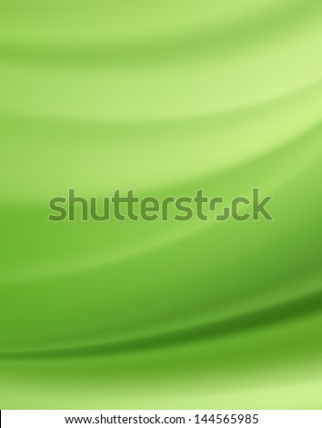Green Silk Fabric for Drapery Abstract Background